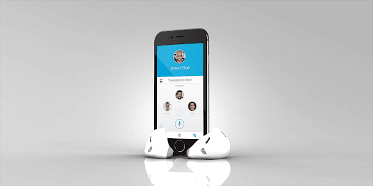 This nifty device translates foreign languages in real-time
