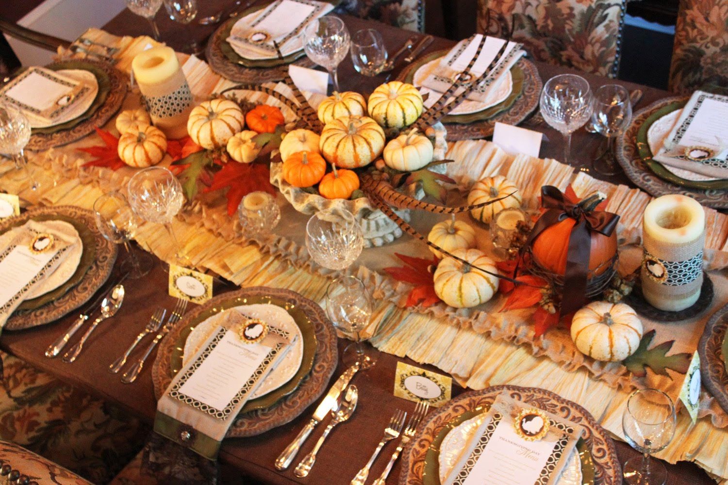 Shindig Thanksgiving Table Decoration Ideas Beautiful Thanksgiving