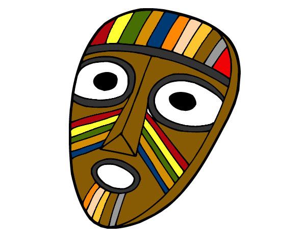 Dibujo De Mascara Olmeca Pintado Por Reick En Dibujosnet El Día 25