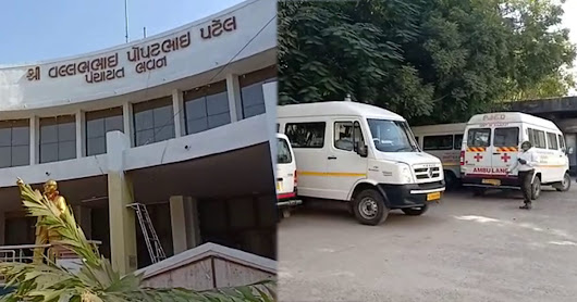Rajkot: Doctors use ambulances meant for patients to travel for meeting