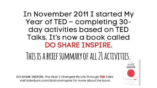 Do Share Inspire: The Year I Changed My Life Through TED Talks