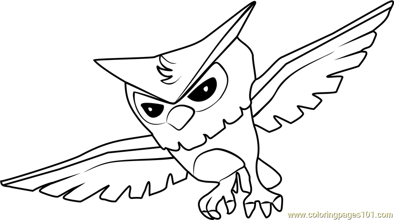 Anime Coloring Pages Animals - Coloring And Drawing
