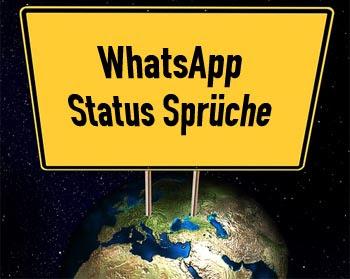 Lustige Whatsapp Status Sprüche