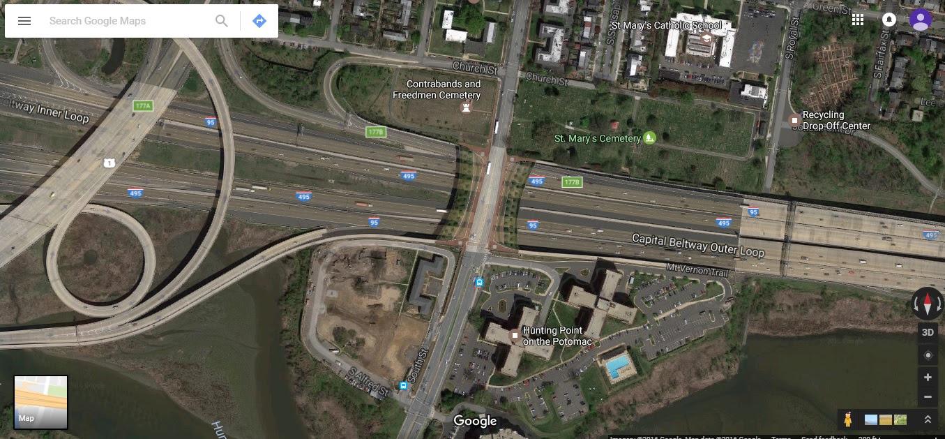 Woodrow Wilson Bridge I 495 And I 95