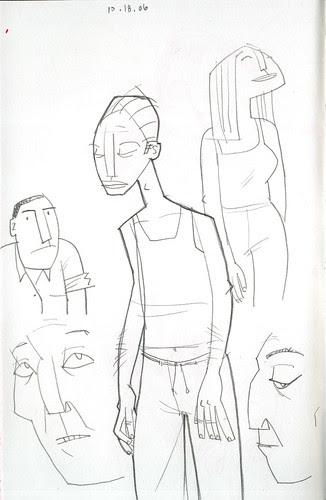 sketchdump: people