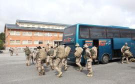 El día 11 llegó el personal a la base de Araca