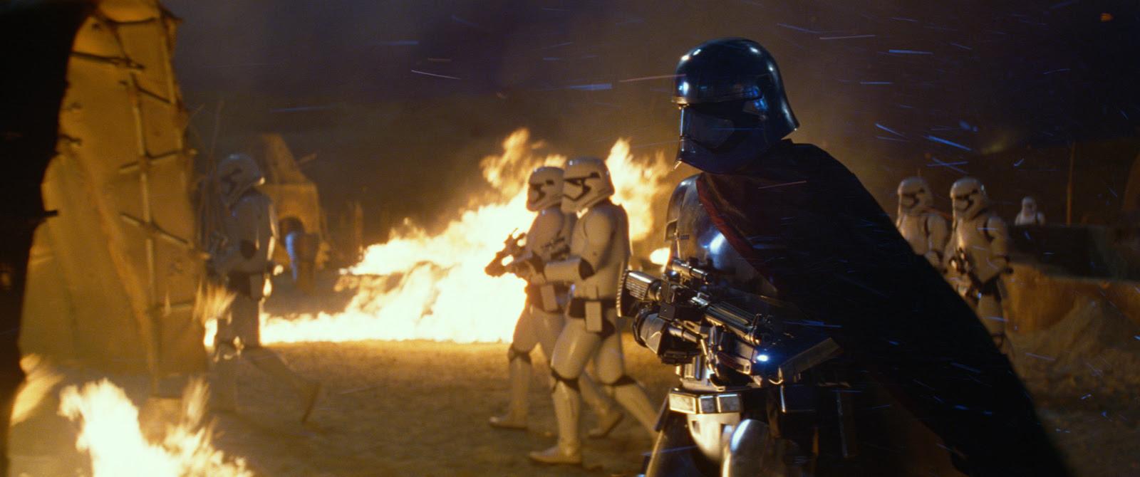 Star Wars - Le Réveil de la Force : Photo Gwendoline Christie