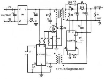 5V DC / 10A Offline Switching Power Supply