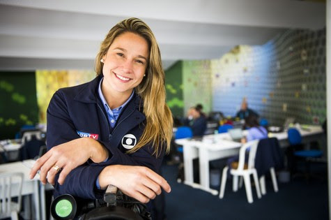 Fernanda Gentil (Foto: João Miguel Júnior/TV Globo)
