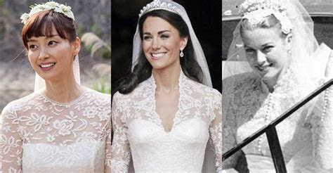 Lee Na young's wedding dress inspired by Kate Middleton
