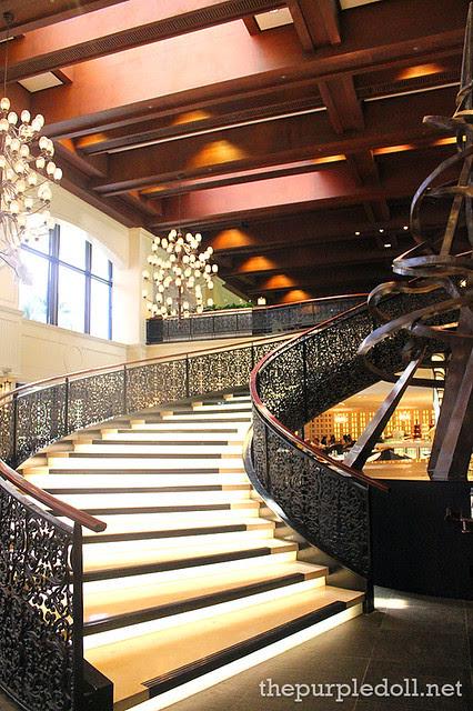 Spiral Staircase at Spiral Sofitel Manila