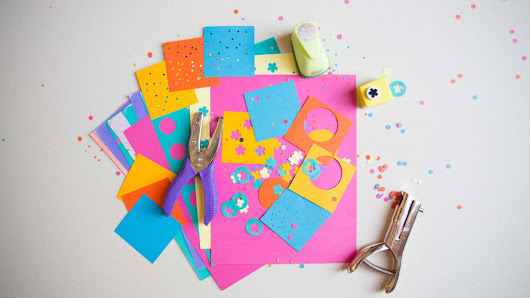 How to Use Paper Punches by Courtney Cerruti - Creativebug