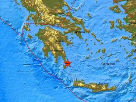Σεισμός 4,7 ρίχτερ αναστάτωσε τη Λακωνία