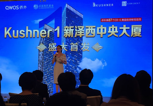 In a Beijing ballroom, Kushner family flogs $500,000 'investor visa' to wealthy Chinese