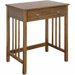 Convenience Concepts 090102DFTW Designs2Go Mission Desk Driftwood - 26 x 30 x 18 in.