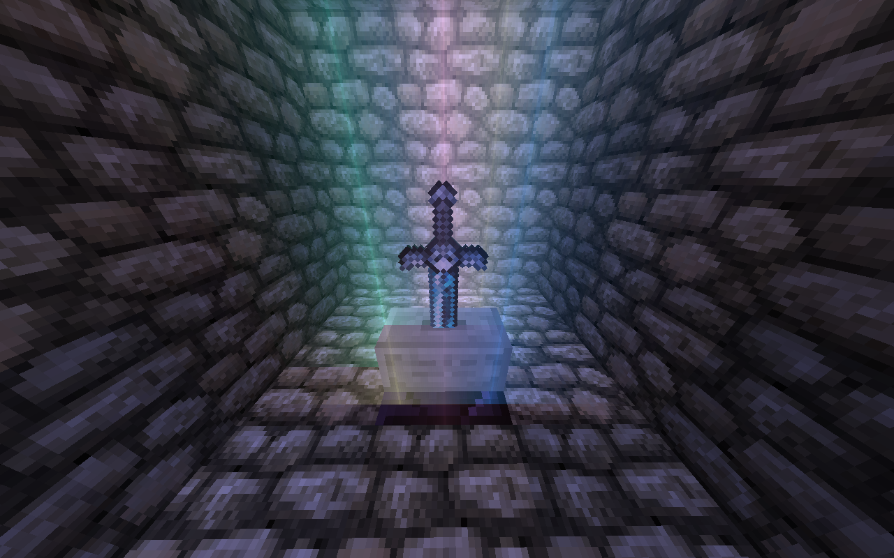 Wallpaper The Sword Of Time Minecraft