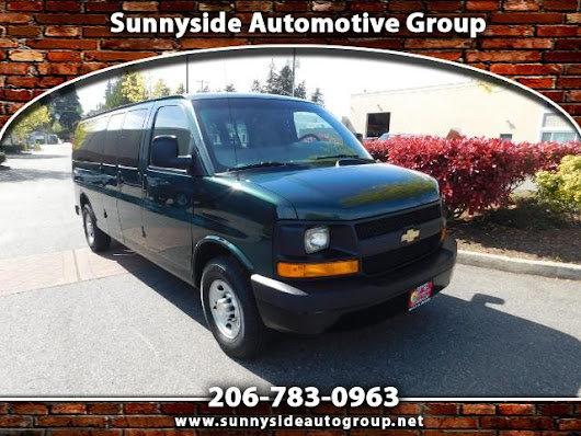 Used 2011 Chevrolet Express LS 3500 Extended for Sale in Seattle WA 98133 Sunnyside Automotive Group