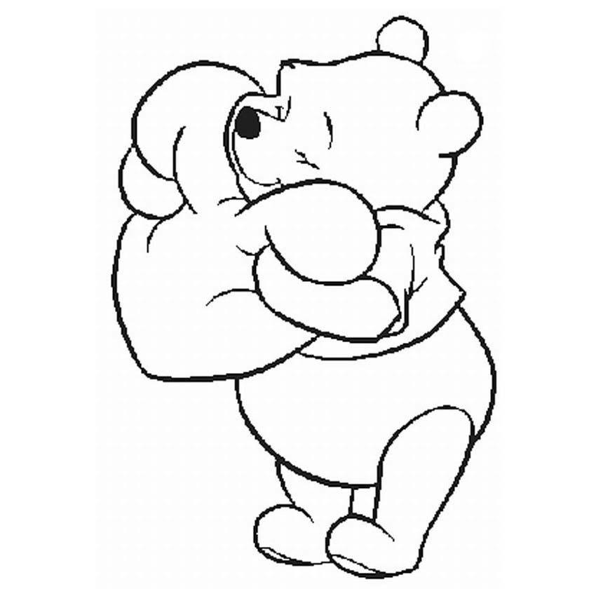 Novo Desenhos Para Colorir Do Ursinho Pooh E Sua Turma Melhores