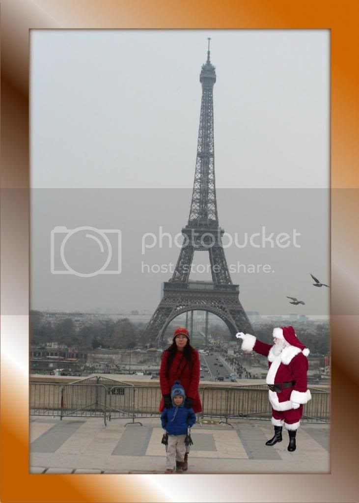 icaughtsanta.com Paris