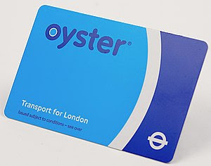 English: Oystercard for the London Underground...