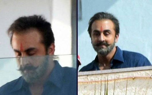 Ranbir Kapoor's most recent look as old Sanjay Dutt is mind boggling. Presently we can't sit tight for the biopic -