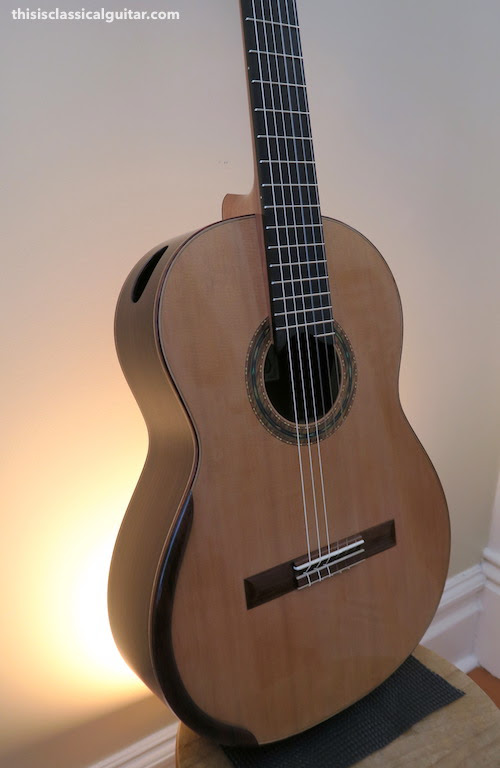 New 2016 Dominelli Double Top Guitar for Sale | this is classical guitar