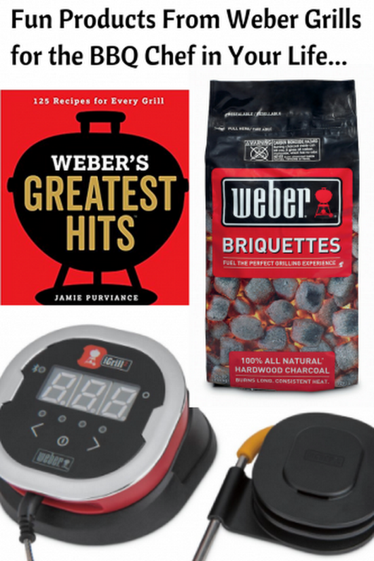 Weber Grills Gifts For the BBQ Chef in Your Family #webersgreatesthits - Mom and More
