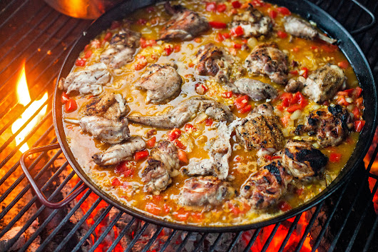 Paella, by Land and Sea