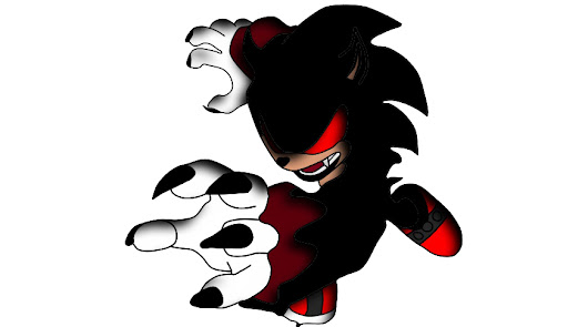 Image: badass gothic sonic by Alien9000 on Newgrounds