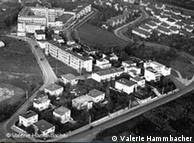 Foto histórica do Weissenhofsiedlung em 1927