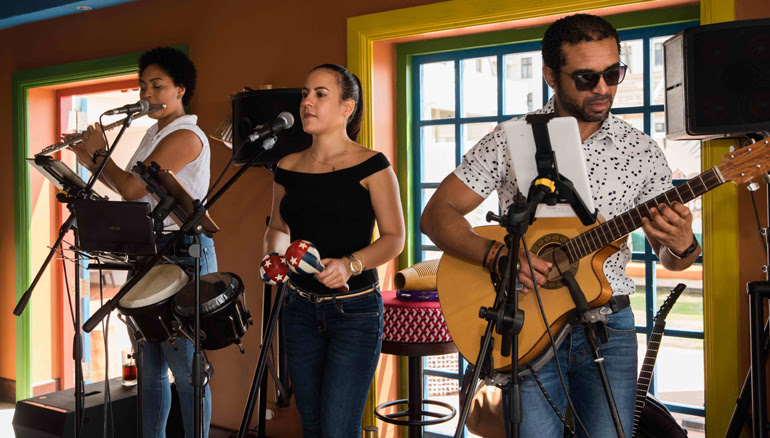 Brunch by the Ocean- King of the Mambo opens for Sunday brunch with live music