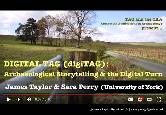digiTAG 2: Archaeological Storytelling and the 'Digital Turn' – CFP