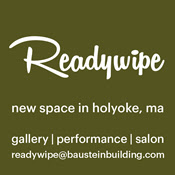 Readywipe - gallery, performance, salon