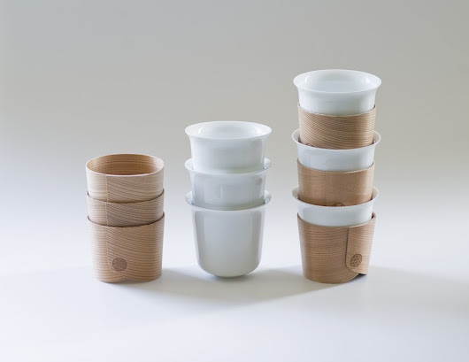 Two Traditional Japanese Crafts Come Together to Create the Beautiful Haori Cup