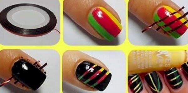 домашний маникюр дизайн ногтей
