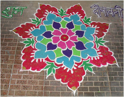 30 Simple Rangoli Designs For special occasion at home