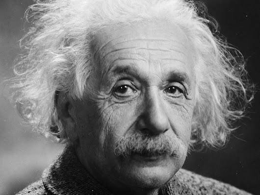 Albert Einstein's profound thoughts on everything from success to common sense