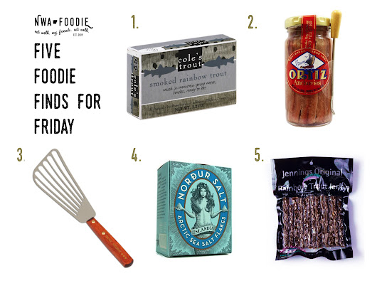 Five Foodie Finds for Friday :: Here fishy, fishy. - nwafoodie