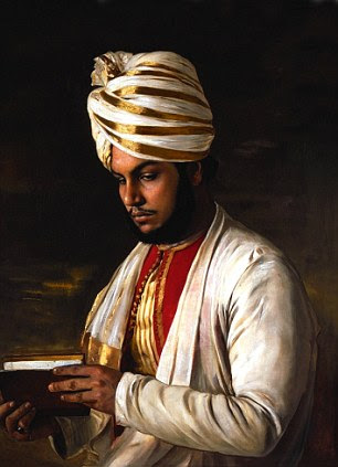 Abdul Karim painted in 1888
