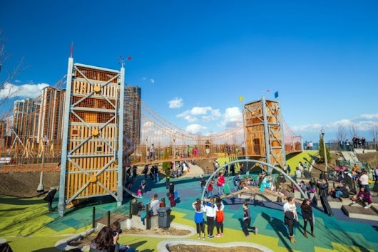 Adventure Playgrounds Seek To Test Limits For Kids And Parents