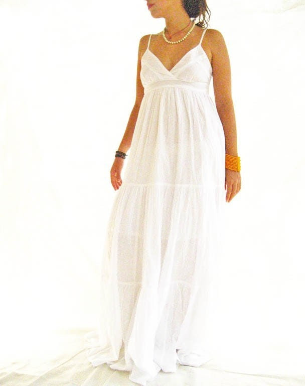 Spanish MAXI DRESS Gorgeous Bohemian Chic Stunning collection spring summer  2009 dress