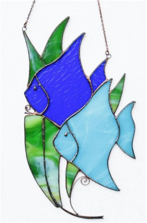 stained glass fish  marine life images