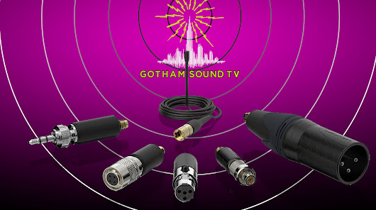 Countryman B6 Lavaliers with Detachable Wireless Adapters by Gotham Sound