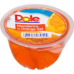 Dole Mandarin in Orange Gel, 4.3-Ounce Cups (Pack of 36)