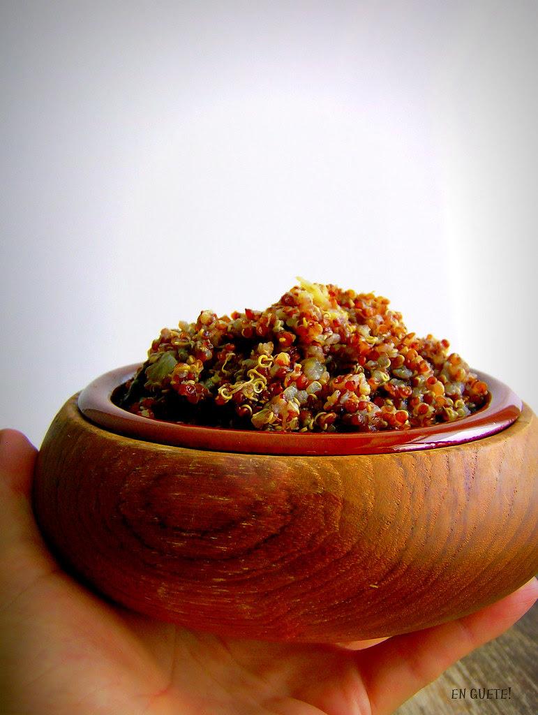 Quinoa roja horneada