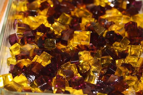Food LIbrarian - Lakers Jello - Broken Glass Jello