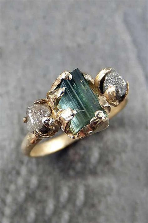 25  best ideas about Raw diamond rings on Pinterest