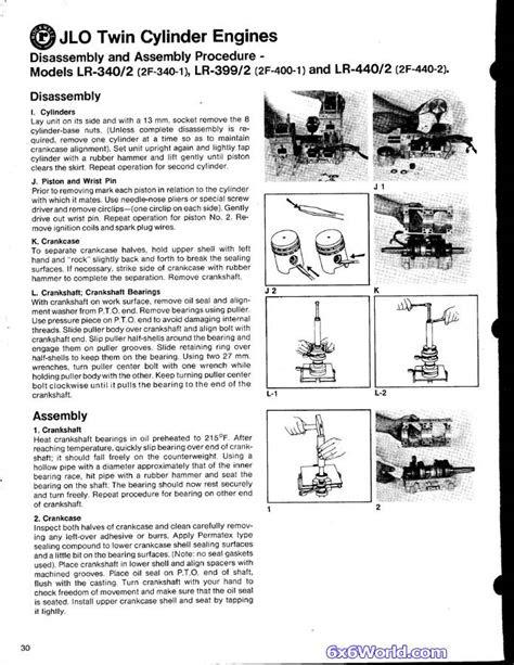 6x6 World - JLO Two Stroke Engine