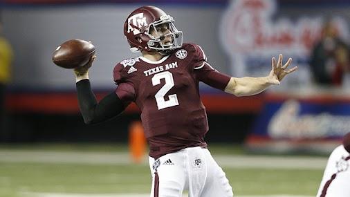NFL draft prospect Johnny Manziel. #theroster http://ow.ly/w4ZfK