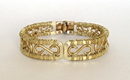 Go For The Gold Bracelet | AllFreeJewelryMaking.com